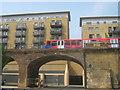 TQ3681 : Limehouse Basin Bridges by David Anstiss