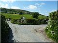 SD5579 : Junction of Jubilee Lane and Newbiggin by Alexander P Kapp