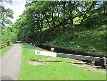 SD9726 : Rawden Mill Lock by Ian S