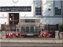 NU1033 : Belford War Memorial by Graham Robson