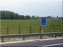 TQ5782 : Farmland west of the M25 near Ockenden by Colin Pyle