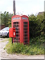 TM5186 : Telephone Box & Black Street Postbox by Adrian Cable