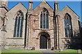 SO7137 : West end of St Michael & All Angels' church, Ledbury by Julian P Guffogg