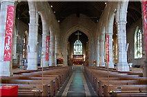 SO7137 : Interior, St Michael & All Angels' church, Ledbury by Julian P Guffogg