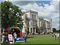 SP9912 : A Bouncy Castle on the Lawn at Ashridge House on Fete Day by Chris Reynolds