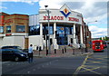 TQ2385 : Entrance to Beacon Bingo, Cricklewood by Jaggery