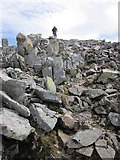 NN1332 : Approaching the summit of Beinn Eunaich by Patrick Mackie