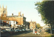 TQ8833 : High Street (A28), Tenterden in 1985 by John Baker
