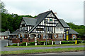 SO8468 : The Mitre Oak south near Crossway Green, Worcestershire by Roger  Kidd