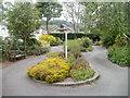 SO0428 : Peace Garden, Brecon by Jaggery