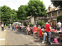 TQ4077 : Jubilee party, Lyveden Road by Stephen Craven