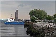 SJ3290 : Niklas, the lock gate to Alfred Dock, Birkenhead by El Pollock