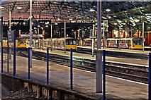 SJ3590 : DMUs, Liverpool Lime Street Railway Station by El Pollock