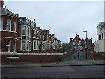 NZ3672 : Houses off Rockcliffe Gardens, Whitley Bay by JThomas