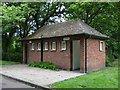 NZ3281 : Public toilets, Ridley Park, Blyth by JThomas
