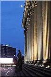 SJ3490 : Disraeli Statue, St. George's Hall, Lime Street, Liverpool by El Pollock