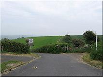 TQ4102 : Telscombe Road by Simon Carey
