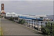 SJ3290 : Seacombe Landing Stage, River Mersey by El Pollock