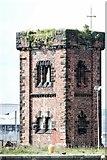 SJ3290 : Hydraulic Tower, Alfred Dock, Birkenhead by El Pollock