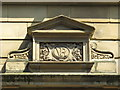 NZ2463 : Queen Victoria monogram on building in Westgate Road, NE1 by Mike Quinn