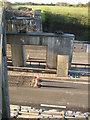 SO8737 : Dismantled railway bridge by Philip Halling
