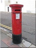 TQ3303 : Edward VII postbox, Eastern Road /  Sussex Square, BN2 by Mike Quinn