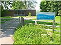SP3968 : Entrance to Eathorpe River Intake Works by Nigel Mykura