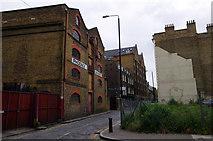 TQ3480 : London - Phoenix Wharf by Chris Talbot