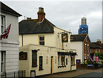 TQ6349 : The Two Brewers, Hadlow by Robin Webster