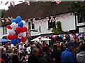 TQ0747 : Street Party, Shere by Colin Smith