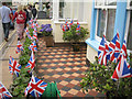 SX9372 : Union Jacks, Marine Parade, Shaldon by Robin Stott