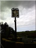 NU1705 : Pub Sign just before the Hailstorm by Christine Westerback