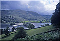 NY3506 : Storm clouds forming above Rydal Water by Trevor Rickard