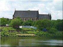 NS5565 : Govan Parish Church by James Allan