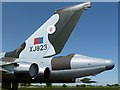 NY4861 : The tail end of the Avro Vulcan Bomber at the Solway Aviation Museum by Walter Baxter