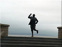 SD4364 : Eric Morecambe Statue in Morecambe by John M Wheatley