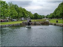 SJ3384 : Port Sunlight Water Feature by David Dixon