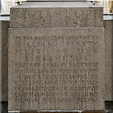 SJ3384 : Lever Memorial Dedication by David Dixon