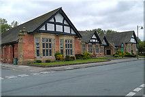SJ3384 : Hulme Hall by David Dixon
