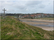 NU2410 : Alnmouth and Church Hill by Anthony Foster