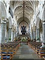 SX9292 : Nave of Exeter Cathedral by Rob Farrow