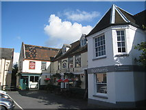 TG1022 : The Kings Arms, Reepham by Jonathan Thacker