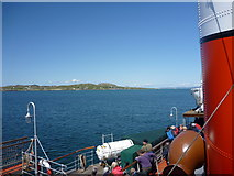 NM2824 : By Steamer To Iona : Iona From The South by Richard West
