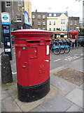 TQ3179 : London: postbox № SE1 60, Baylis Road by Chris Downer
