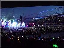 TQ3185 : Highbury: Coldplay concert at the Emirates Stadium by Chris Downer