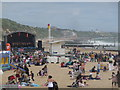 SZ0990 : Bournemouth: Diamond Jubilee entertainment on the beach by Chris Downer