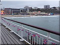 SZ0890 : Bournemouth: Union Jack bunting on the pier by Chris Downer