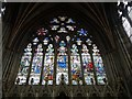 SX9292 : East Window, Lady Chapel, Exeter Cathedral by Rob Farrow