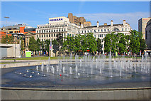 SJ8498 : Piccadilly Gardens by Wayland Smith