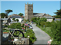 SW4538 : Zennor, Cornwall by Chris Allen